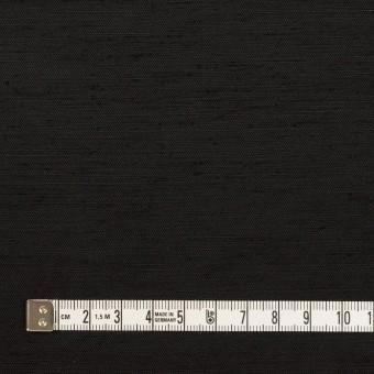 コットン&シルク混×無地(ブラック)×シャンタン サムネイル4