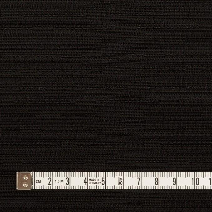 ポリエステル×無地(ブラック)×ジャガード イメージ4