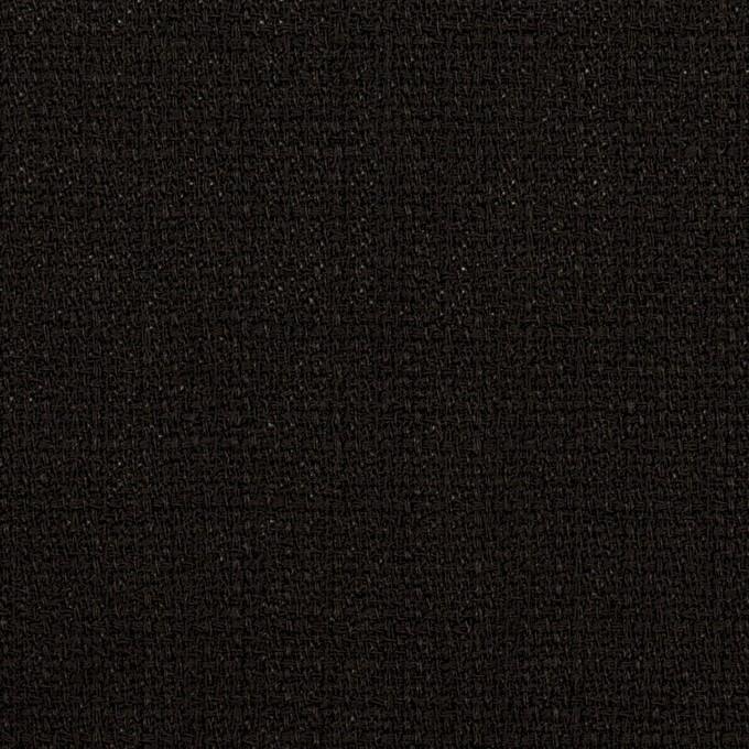 ポリエステル×無地(ブラック)×かわり織 イメージ1