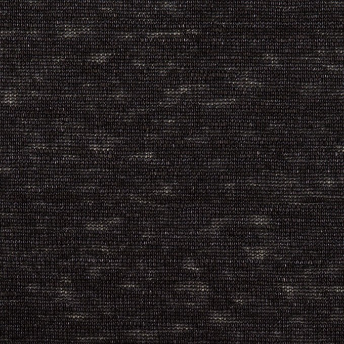 リネン×無地(ダークネイビー)×天竺ニット_全4色 イメージ1