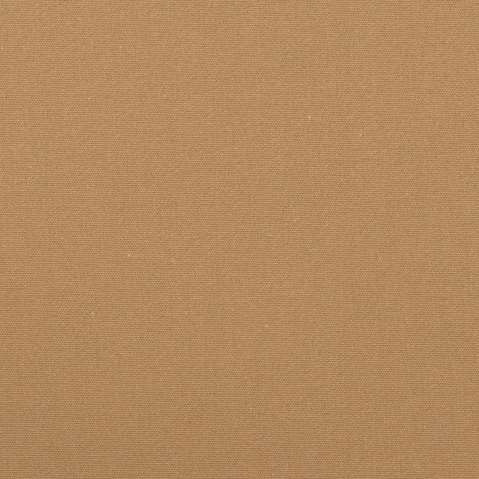 コットン×無地(オークルベージュ)×高密ポプリン イメージ1