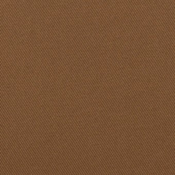 コットン×無地(ブラウン)×チノクロス