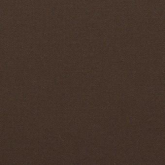 コットン×無地(チョコレート)×シャンブレー・ギャバジン