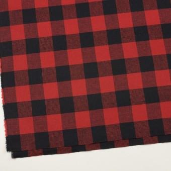 コットン×チェック(レッド)×蜂巣織_全3色 サムネイル2