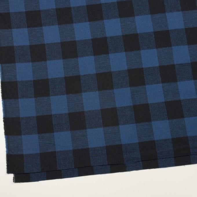 コットン×チェック(マリンブルー)×蜂巣織_全3色 イメージ2