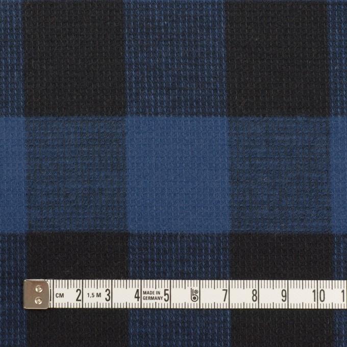 コットン×チェック(マリンブルー)×蜂巣織_全3色 イメージ4