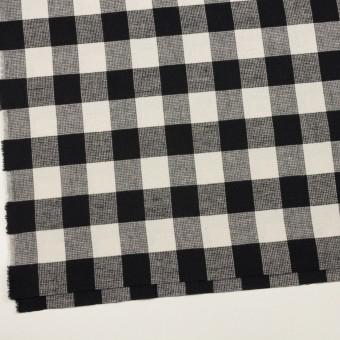 コットン×チェック(オフホワイト)×蜂巣織_全3色 サムネイル2