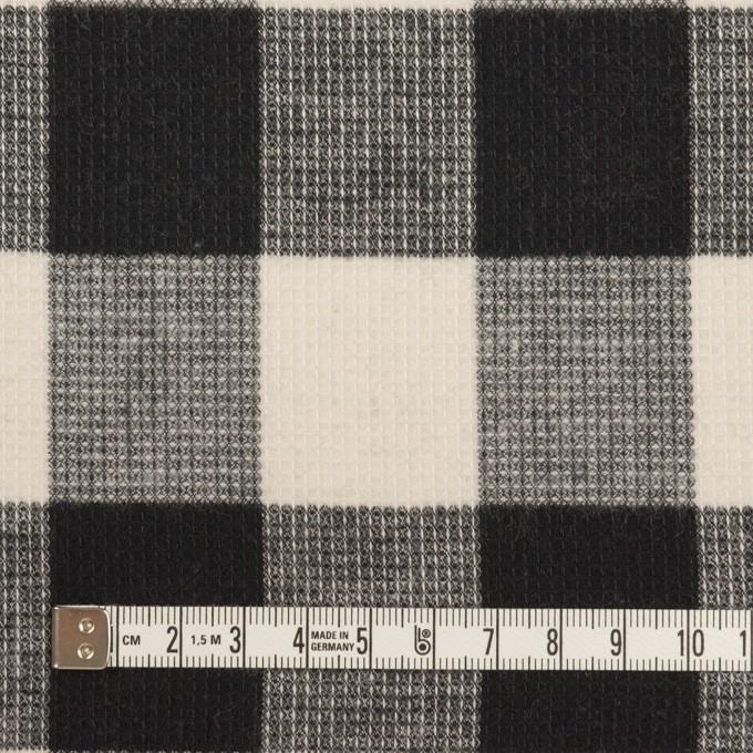 コットン×チェック(オフホワイト)×蜂巣織_全3色 イメージ4
