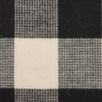 コットン×チェック(オフホワイト)×蜂巣織_全3色 サムネイル1