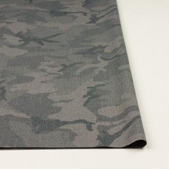 ポリエステル&レーヨン混×迷彩(グレー)×斜子織_全3色 サムネイル3