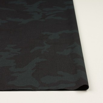 ポリエステル&レーヨン混×迷彩(チャコール)×斜子織_全3色 サムネイル3