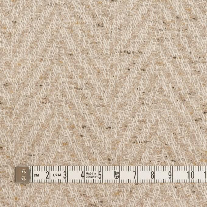 コットン×ミックス(ベージュ)×ヘリンボーン_全2色 イメージ4