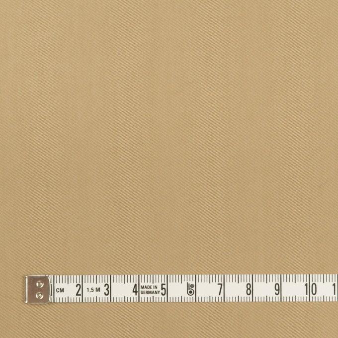 コットン&ポリエステル混×無地(カーキ)×サージストレッチ_全2色 イメージ4