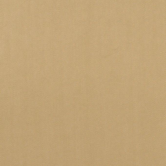 コットン&ポリエステル混×無地(カーキ)×サージストレッチ_全2色 イメージ1