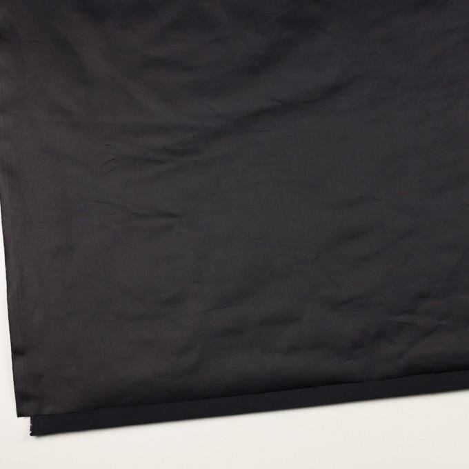 ポリエステル&コットン×無地(ダークネイビー)×ブロード(パラフィン加工)_全2色 イメージ2