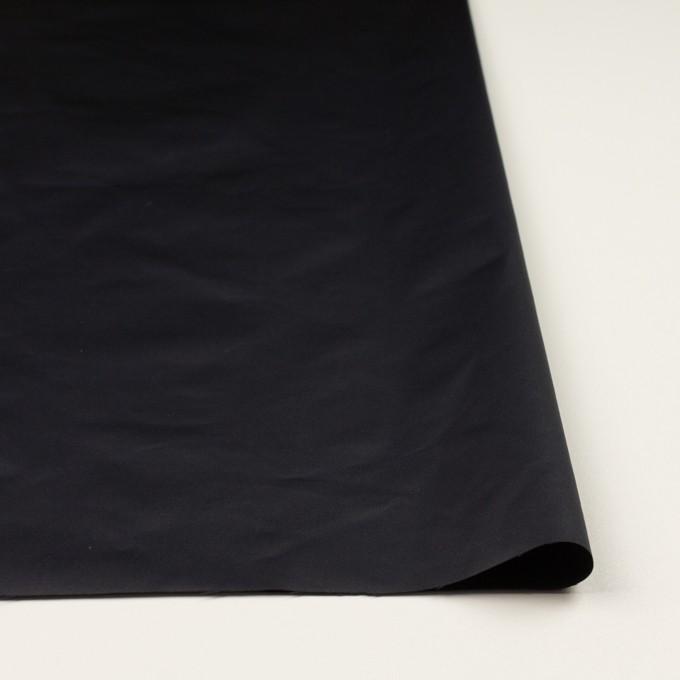 ポリエステル&コットン×無地(ダークネイビー)×ブロード(パラフィン加工)_全2色 イメージ3