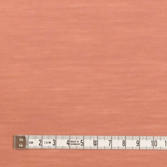 ウール×無地(テラコッタ)×天竺ニット イメージ4