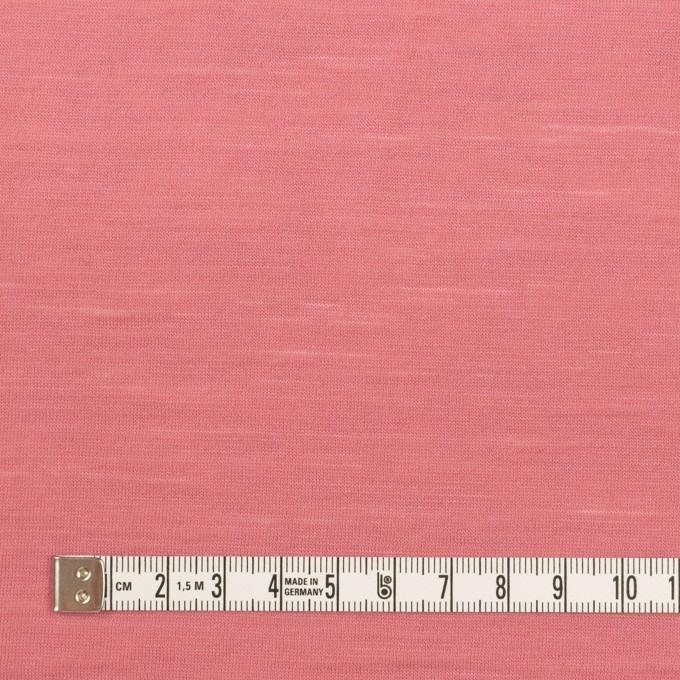 ウール×無地(ローズ)×天竺ニット_全3色 イメージ4