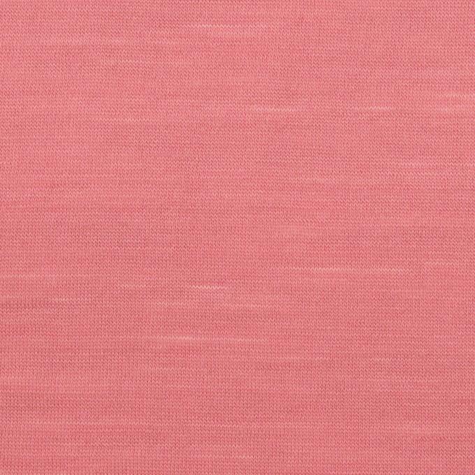 ウール×無地(ローズ)×天竺ニット_全3色 イメージ1