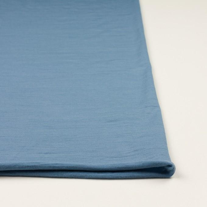 ウール×無地(チョークブルー)×天竺ニット_全3色 イメージ3
