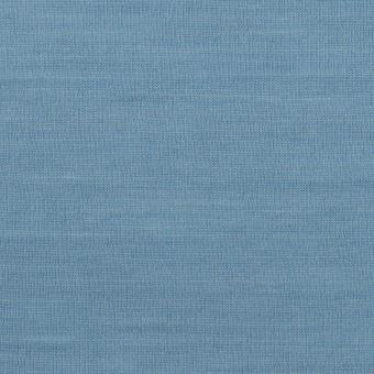 【120cmカット】ウール×無地(チョークブルー)×天竺ニット_全3色