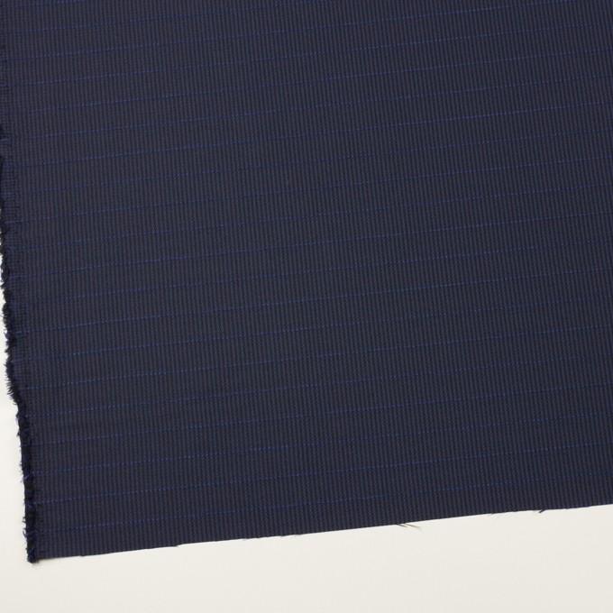 ウール&ポリウレタン×チェック&ボーダー(グレープ&ブラック)×千鳥格子ストレッチ_全2色_イタリア製 イメージ2