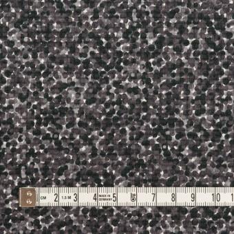 コットン&ポリウレタン×ミックス(グレープグレー)×ピケストレッチ_イタリア製 サムネイル4
