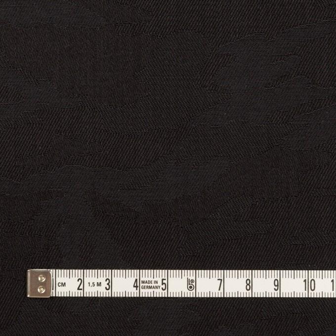 コットン×迷彩(チャコールブラック)×ジャガード イメージ4