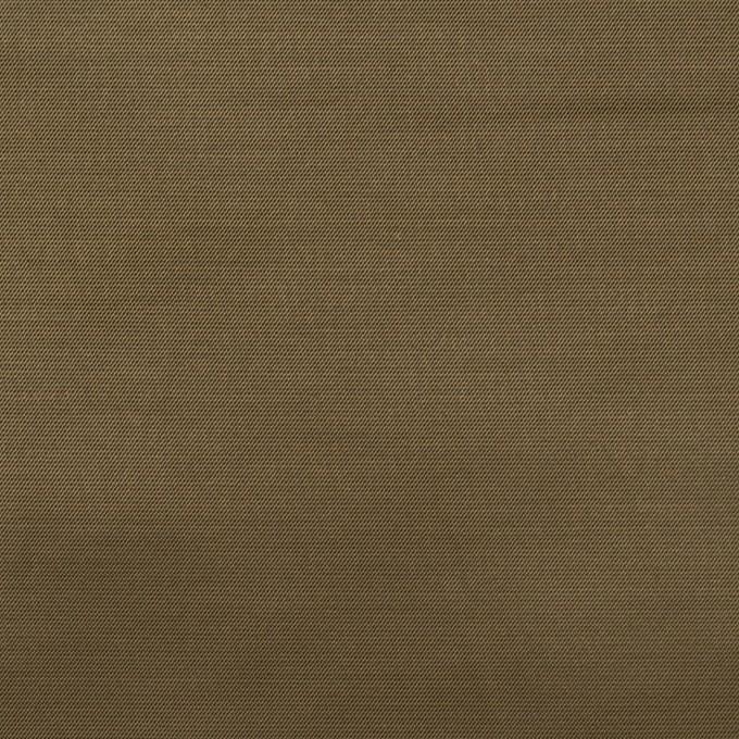 ナイロン&コットン混×無地(ダークカーキ)×サテンストレッチ_全2色 イメージ1