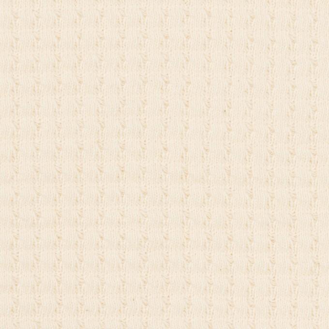 コットン×無地(キナリ)×Wニット_全3色 イメージ1