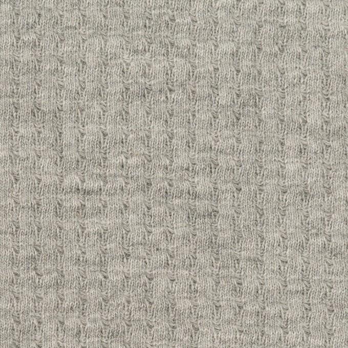 コットン×無地(グレー)×Wニット_全3色 イメージ1