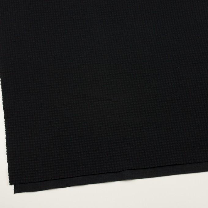 コットン×無地(ブラック)×Wニット_全3色 イメージ2