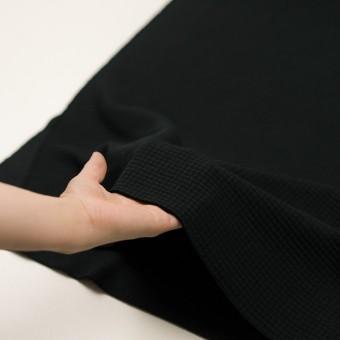 コットン×無地(ブラック)×Wニット_全3色 サムネイル5