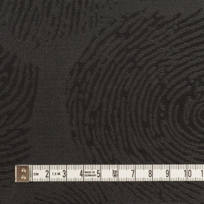 ポリエステル&コットン混×幾何学模様(チャコール)×グログラン・ジャガード_パネル イメージ4