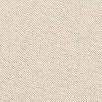 コットン×無地(ベージュグレー)×セルビッチ・カツラギ