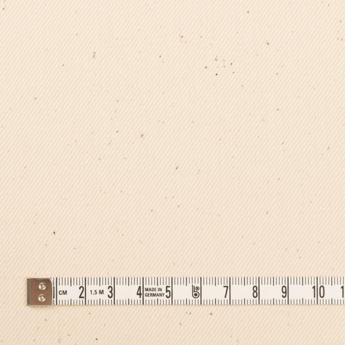 コットン×無地(キナリ)×セルビッチ・カツラギ イメージ4