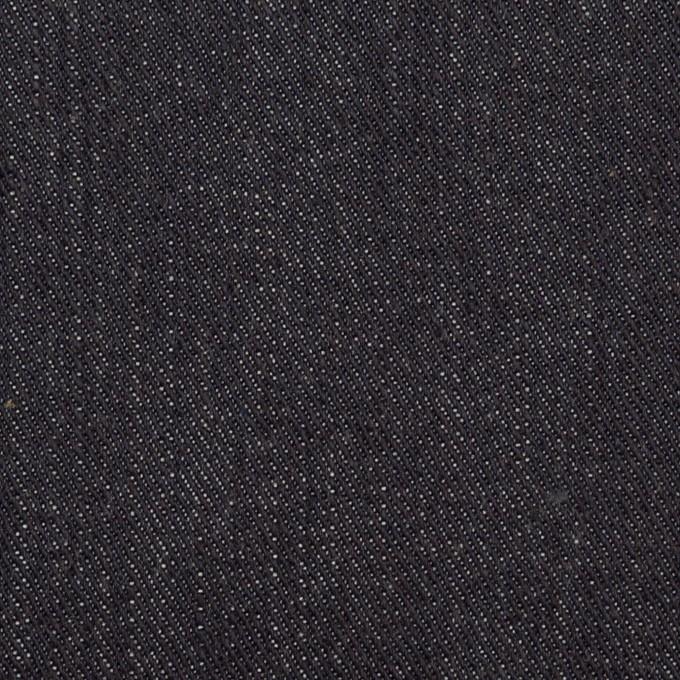 コットン×無地(インディゴ)×セルビッチ・デニム(13oz) イメージ1