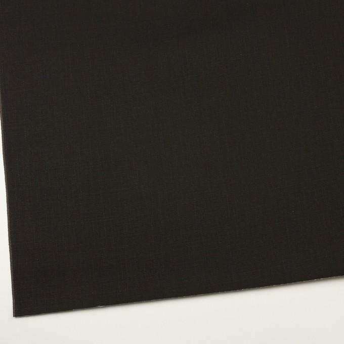 コットン×無地(チャコールブラック)×セルビッチ・デニム(13.5oz) イメージ2