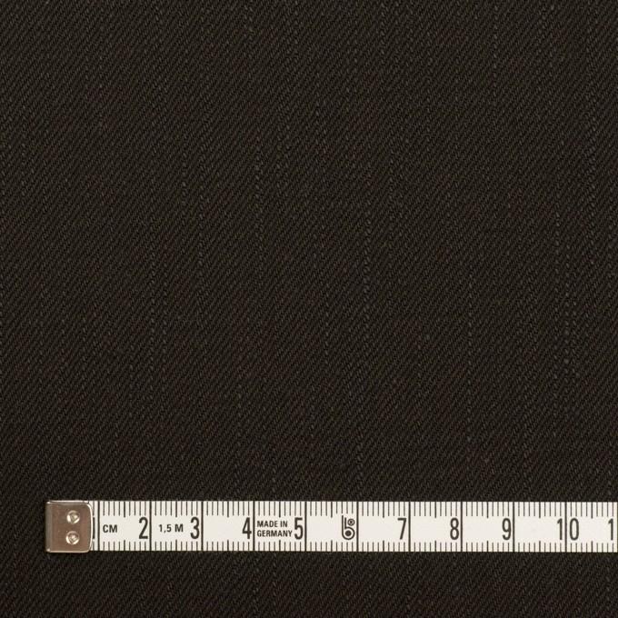 コットン×無地(チャコールブラック)×セルビッチ・デニム(13.5oz) イメージ4