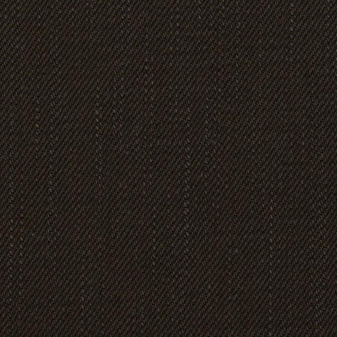 コットン×無地(チャコールブラック)×セルビッチ・デニム(13.5oz) イメージ1
