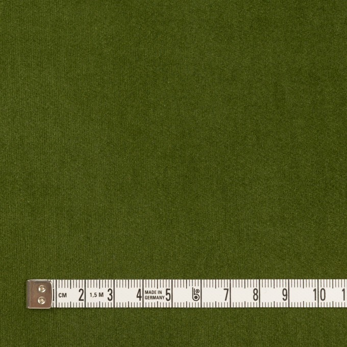 コットン×無地(フォレストグリーン)×ベッチンワッシャー_全5色 イメージ4