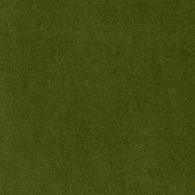コットン×無地(フォレストグリーン)×ベッチンワッシャー_全5色 イメージ1