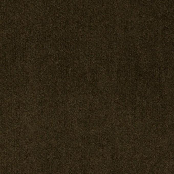 コットン×無地(カーキブラウン)×ベッチンワッシャー_全5色 イメージ1