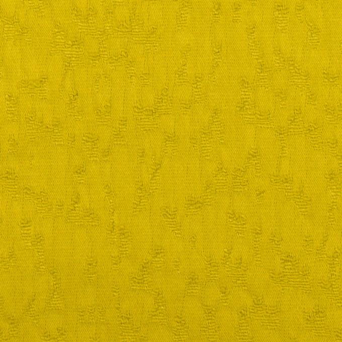 コットン&ポリウレタン×無地(ミモザ)×サテンジャガード・ストレッチ イメージ1