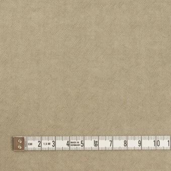 ウール×無地(グレイッシュベージュ)×ガーゼ サムネイル4