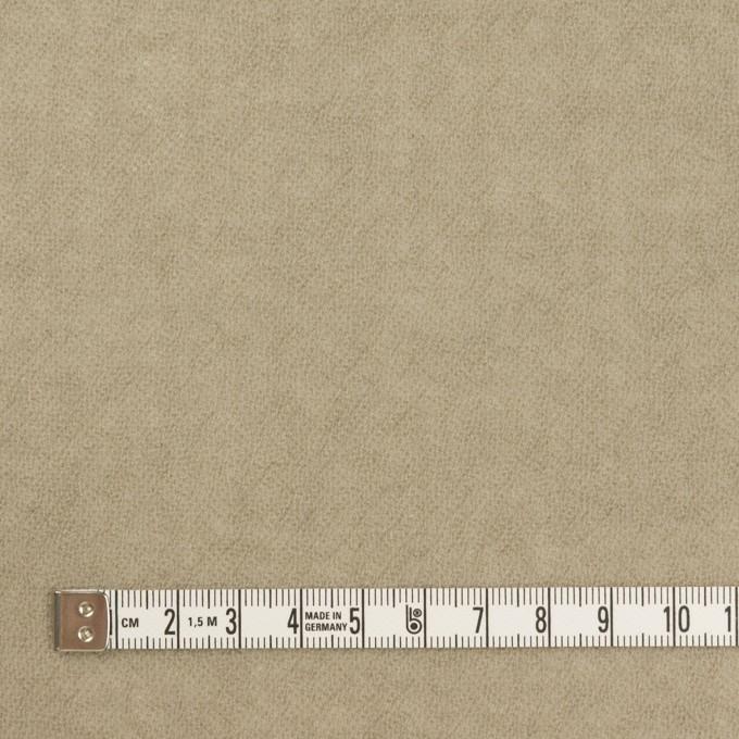 ウール×無地(グレイッシュベージュ)×ガーゼ イメージ4