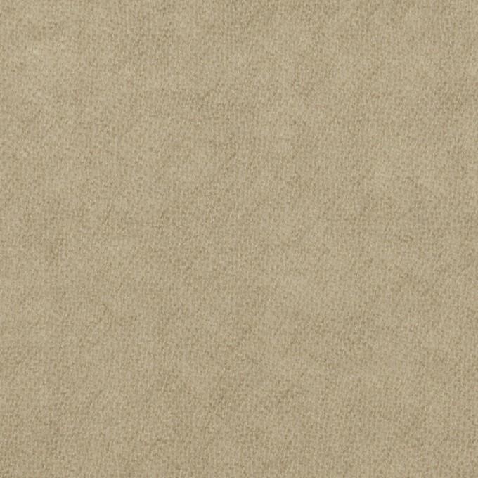 ウール×無地(グレイッシュベージュ)×ガーゼ イメージ1