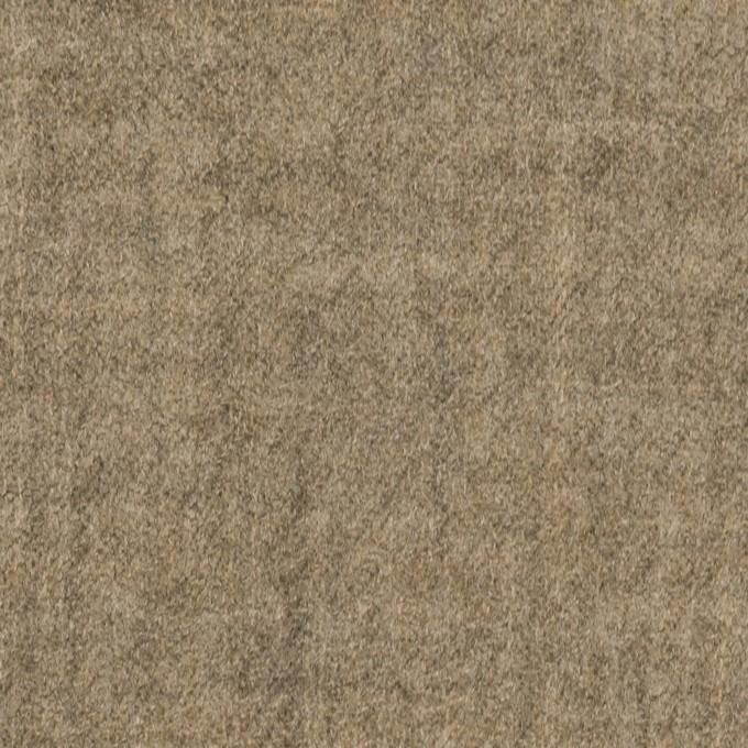 ウール×無地(オートミール)×ガーゼ_全2色 イメージ1