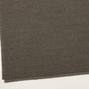 ウール&アクリル×ミックス(アッシュブラウン)×かわり織 サムネイル2