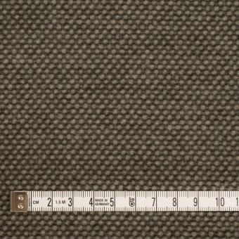 ウール&アクリル×ミックス(アッシュブラウン)×かわり織 サムネイル4